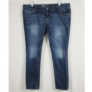 Plus Mossimo Skinny Stretch Jeans Size 18 Short
